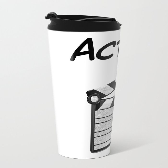 Action! Metal Travel Mug