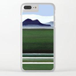Somes Island - Matiu Clear iPhone Case