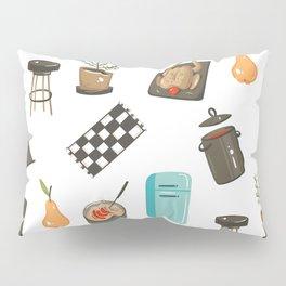 Retro Cooking Pillow Sham