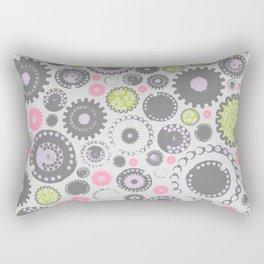 Cogs de la Femme Rectangular Pillow