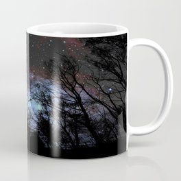 Black Trees Dark Space Coffee Mug