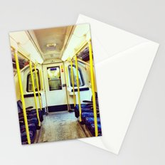 Empty tube- Northern Line Stationery Cards