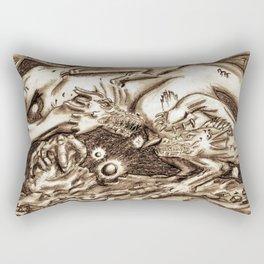 Real Fantasy Battles: Revised Rectangular Pillow