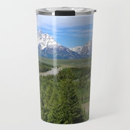 Snake River And The Grand Tetons Travel Mug