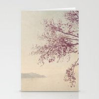 breathe Stationery Cards featuring breathe by Slight Clutter