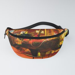 Midnight Carousel Ride Fanny Pack