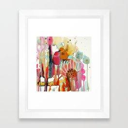 cheek to cheek Framed Art Print