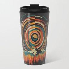 The Geometry of Sunrise Travel Mug
