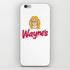 WAYNE'S SINGLE #2 iPhone & iPod Skin
