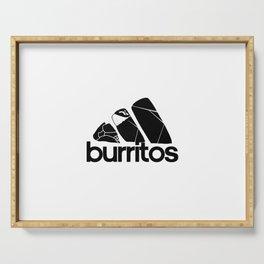 Burritos Serving Tray