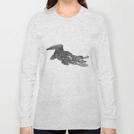 alligator-tangle Long Sleeve T-shirt