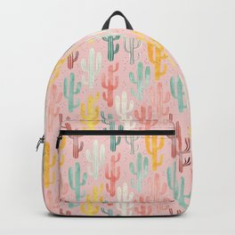 Long Multicolored Cacti Backpack