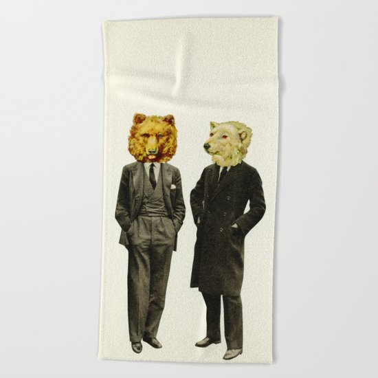 The Likely Lads Beach Towel