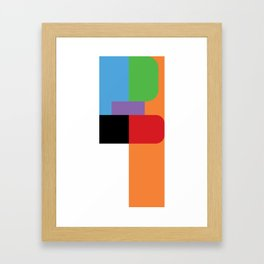 Frustration Framed Art Print
