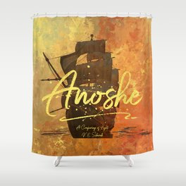 Anoshe.  A Conjuring of Light. Shower Curtain