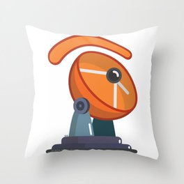 telecommunic.eye.tions Throw Pillow