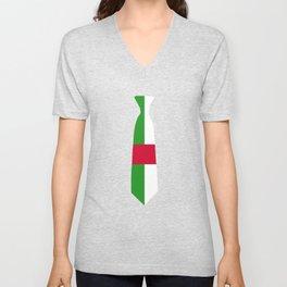 Central African Republic Tie T Shirt Unisex V-Neck