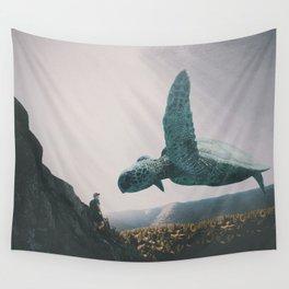 Under Shangri-La Skies Wall Tapestry