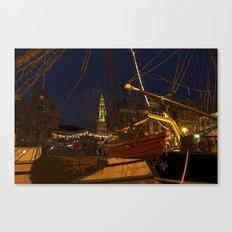 December Atmosphere Canvas Print