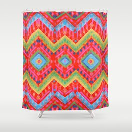 itzel - multi Shower Curtain