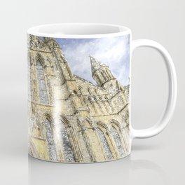 York Minster Cathedral Snow Art Coffee Mug