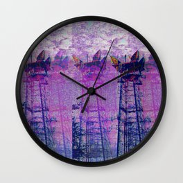 Stuck On Static Wall Clock