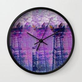 Stuck On Static Wall Clock