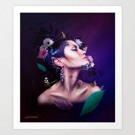 Nature & It's Mother Art Print