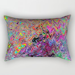 Alien Dubstep Rectangular Pillow