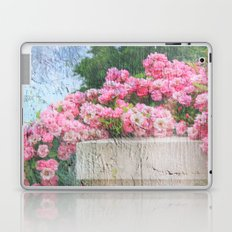 Cascade of Pink Roses Laptop & iPad Skin