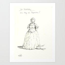 fairy tale 2 Art Print