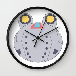 Animal Crossing: Ribbot Wall Clock