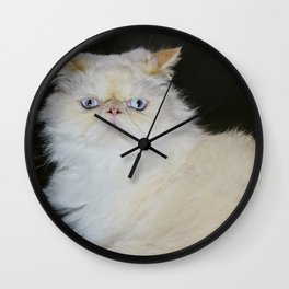 Lord Aries Cat - Painting Wall Clock