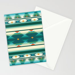 American Native Pattern No. 160 Stationery Cards