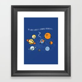 Party Like It's 1550 Framed Art Print
