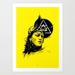 Omega One Art Print