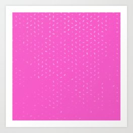 cancer zodiac sign pattern mag Art Print