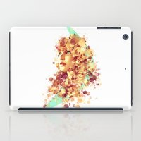 jennifer lawrence iPad Cases featuring Jennifer Lawrence by Rene Alberto