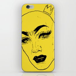 SASHA VELOUR iPhone Skin