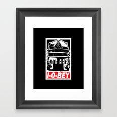 I-O-BEY '74 Framed Art Print