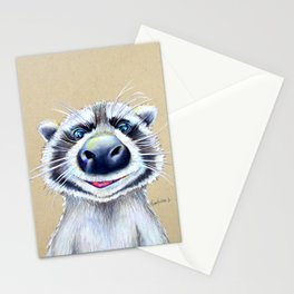 Raccoons are such goons ;) Stationery Cards