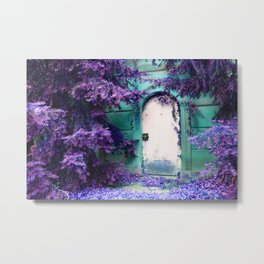 we're all mad here... Metal Print