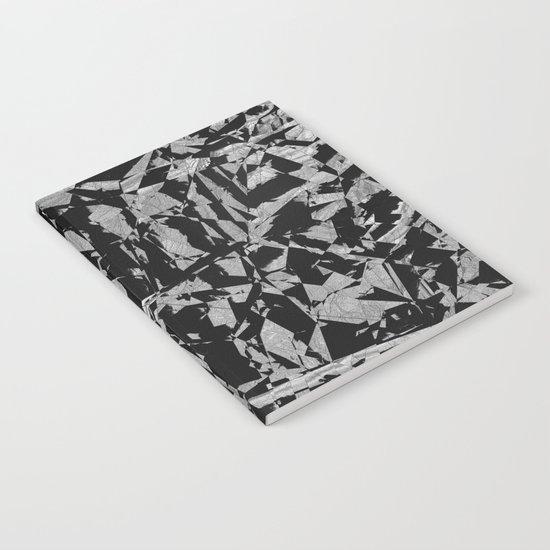 Black - Silver - Crazy Notebook