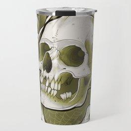 Sepia Skull by Kevin Thrun Travel Mug
