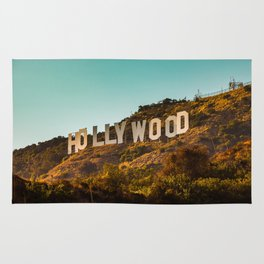 Hollywood Sign Rug