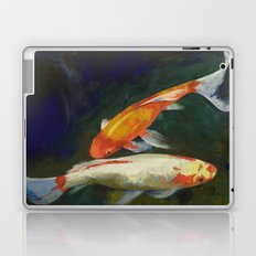 Feng Shui Koi Fish Laptop & iPad Skin