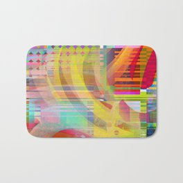 colors squared Bath Mat