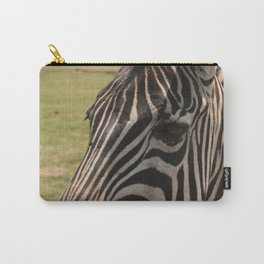 Zebra stare down Carry-All Pouch