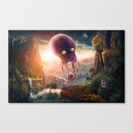 OCTOPUS RIDERS Canvas Print