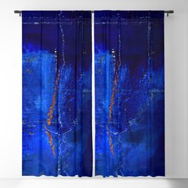 Into The Blue No.3a by Kathy Morton Stanion Blackout Curtain